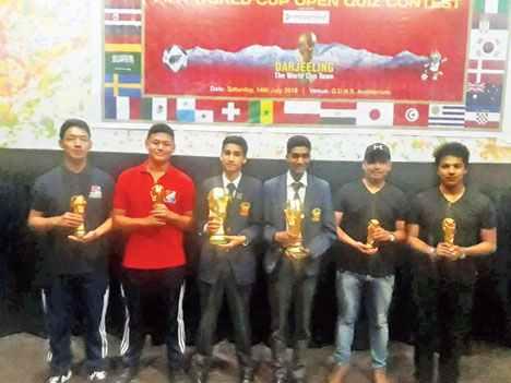 Believe it, Brazil lifted Fifa World Cup 2018 trophy in Darjeeling