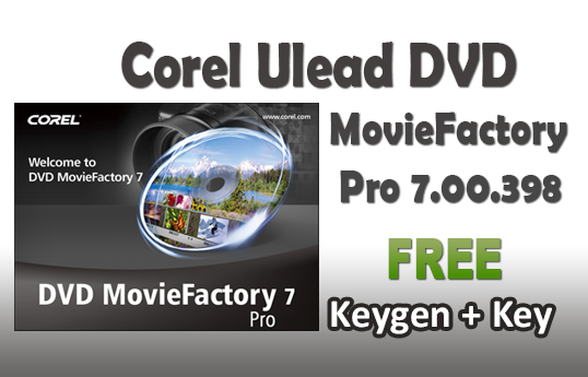 Corel DVD MovieFactory 6 license