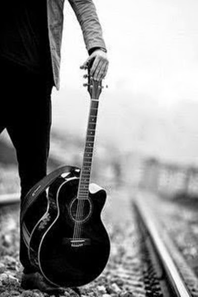 Music Facebook DP 2015 Boys Crazy With Guitar Fb Sad Boy Sitting Profile Photo Very Smart New Gallery