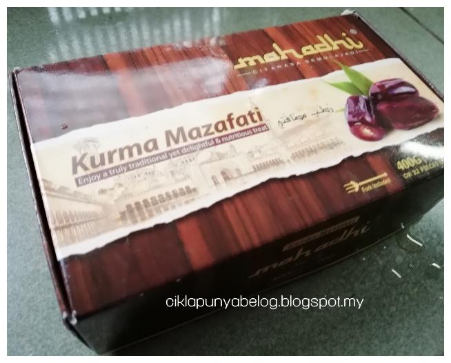 Kurma MAZAFATI by Mahadhi keluaran All Kurma Malaysia : Lembut, sedap dan semestinya berkhasiat!