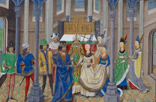 Marriage of King John I with Philippa of Lancaster