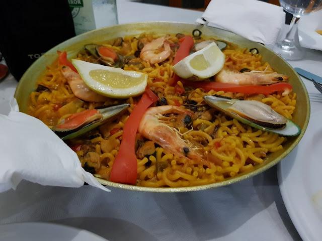Cena a Los Caracolitos-Fuerteventura