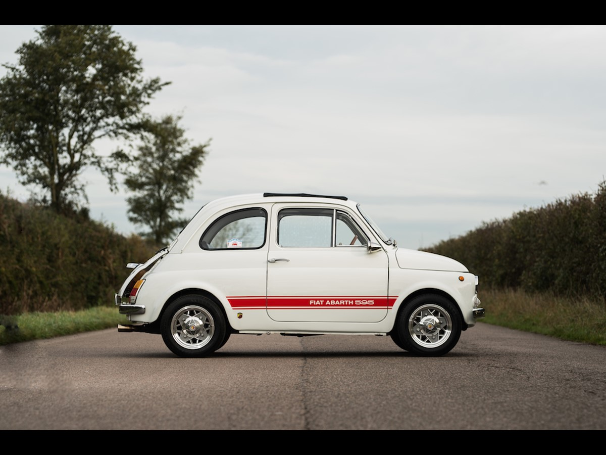 COMING TO AUCTION From Clic Chatter: 1972 FIAT ABARTH 595 ESSE ...
