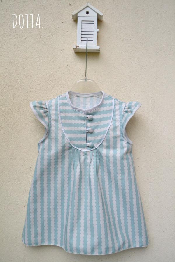 Mara Dress in Kokka fabric, dottasews.blogspot.com