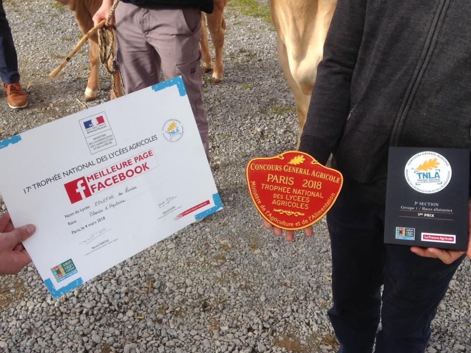 Des prix au salon de l 39 agriculture les tic au legta de dax - Prix entree salon de l agriculture ...