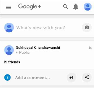 Google+ me bold, italic post kaise kare 3
