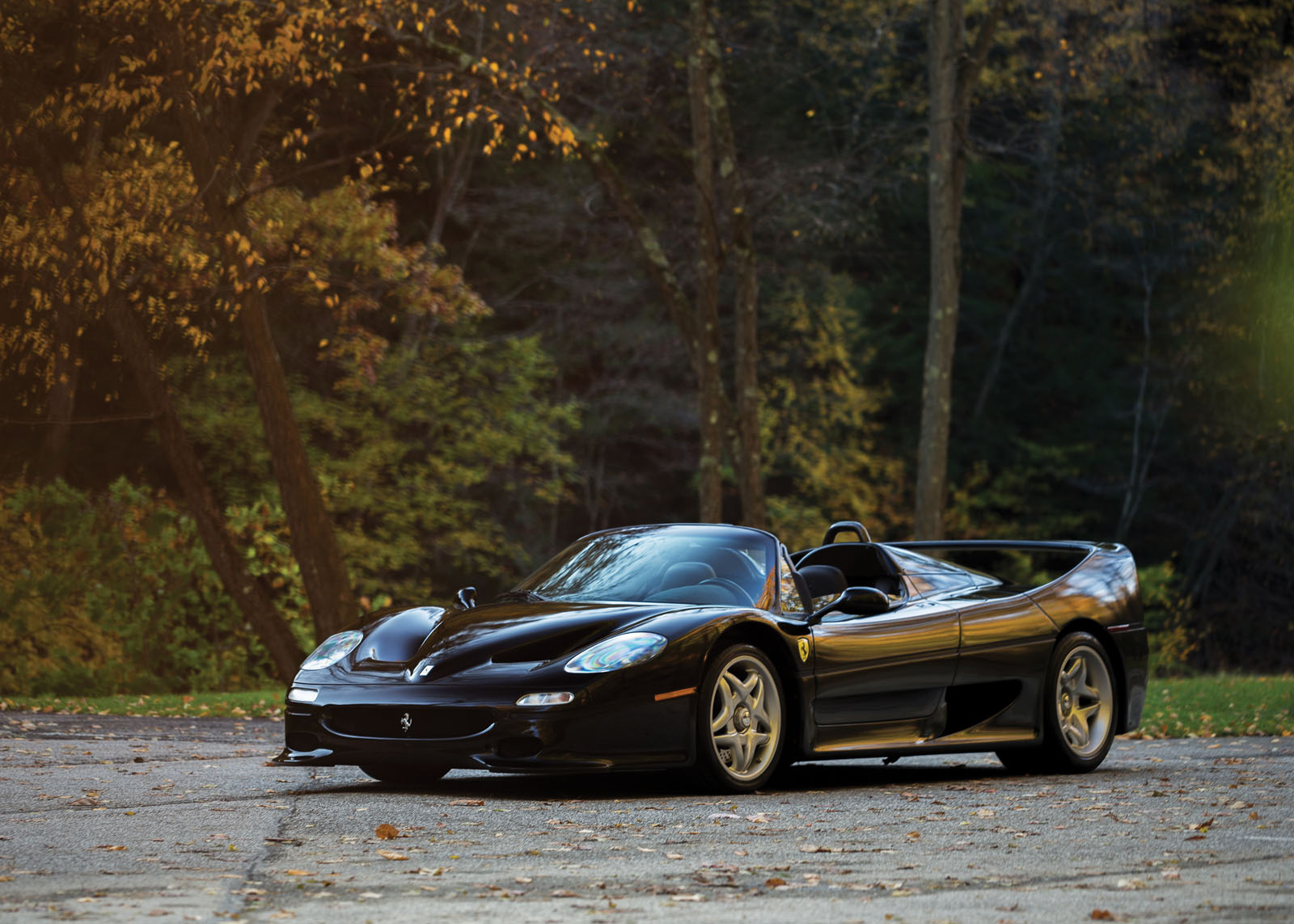 This rare black ferrari f50 is valued at over 3 million photo gallery vanachro Image collections
