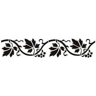 Pintar con plantillas cositasconmesh - Cenefas decorativas para imprimir ...