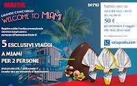Logo Maina ''Grande concorso Welcome to Miami'': premi sicuri e vinci 5 viaggi per 2 persone