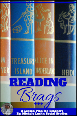 Do you need a new reading organizers with an acronym kids will remember and love? Take a look at this great way to brag about reading! #teaching #organizer #learning