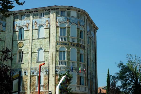 venise lido art nouveau ausonia palace