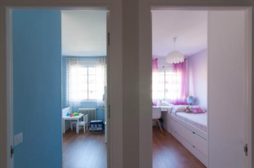Reforma de lujo-Vivienda-Arquitectos-Madrid-Dormitorios infantiles