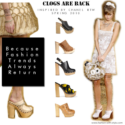 SHOE TREND: CLOGS ARE THE NEW PUMPS