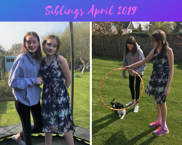 siblings april 2019 stephs two girls
