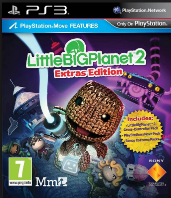 LittleBigPlanet2 Extras Edition EU ( ODE PKG ) iso PS3 - Download