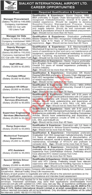 sialkot-international-airport-limited-sial-jobs-2020-apply-online