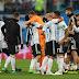 ARGENTINA LOLOS DRAMATIS BERKAT GOL MARCOS ROJO
