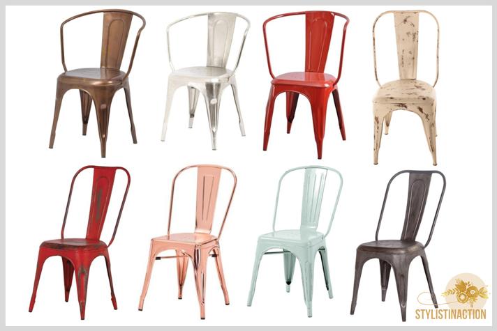 sillas de autor - cual es la indicada para cada casa - Silla Tolix de Xavier Pauchard