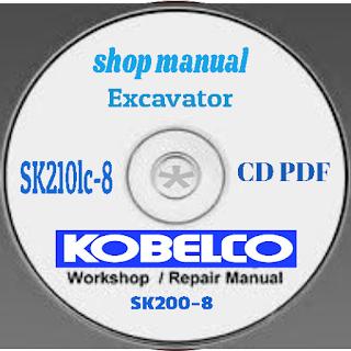 Kobelco sk200-8 shop manual cd pdf