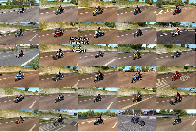 ets 2 motorcycle traffic pack v2.3 screenshots 2