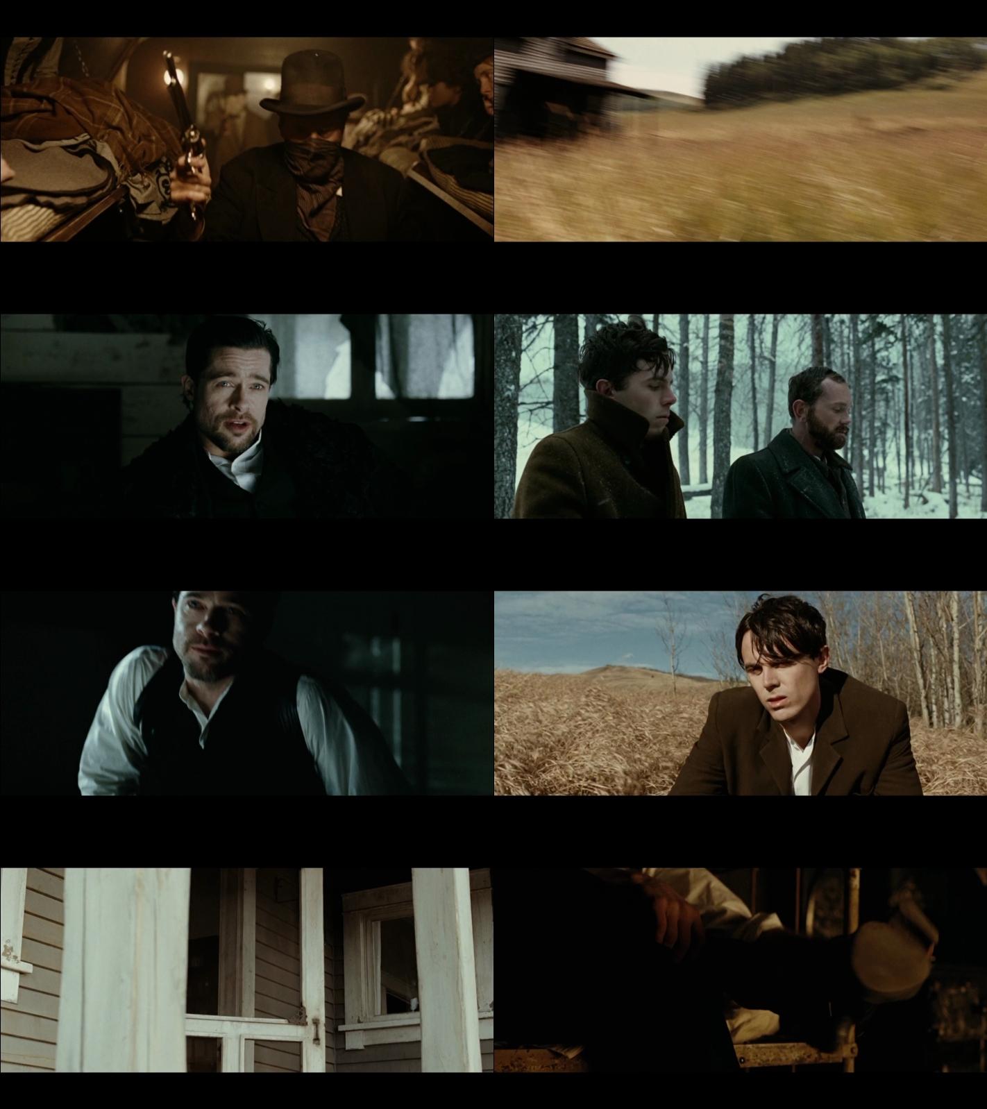 El asesinato de Jesse James por el cobarde Robert Ford 1080p Latino