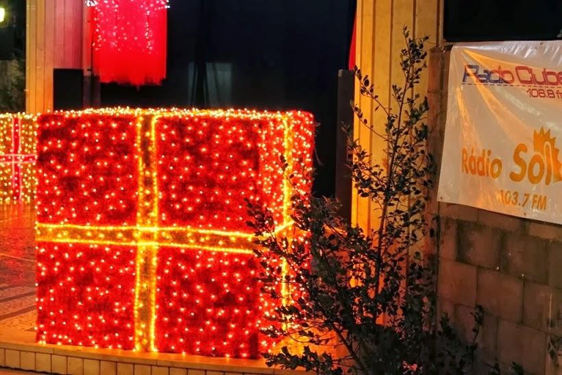 funchal chrismas lights