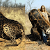 Woman Gets Slammed After Taking a Picture with a Rare Black Giraffe she Previously Hunted
