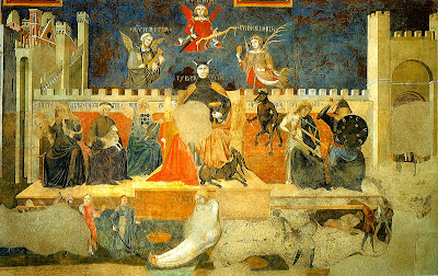 Allegory of Bad Government by Ambrogio Lorenzetti