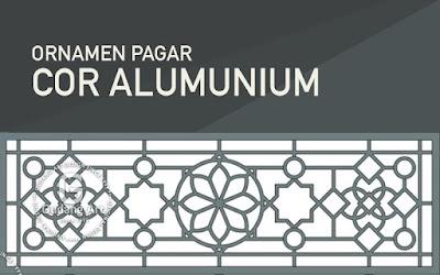 Pengrajin ornamen pagar masjid