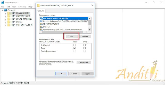 Cara mengatasi Aplikasi Bawaan Windows 10 yang tidak bisa dibuka-anditii.web.id