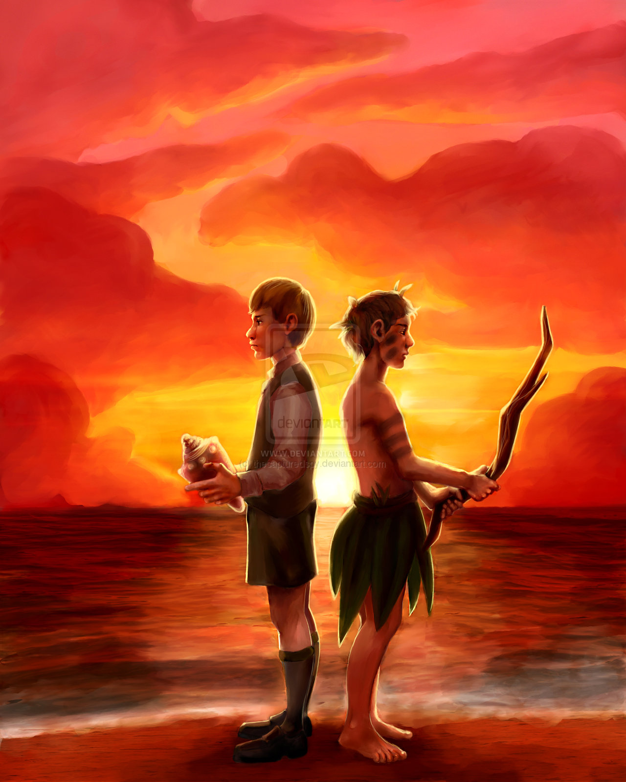 Essay: Lord Of The Flies, Comparison of Ralph and Jack