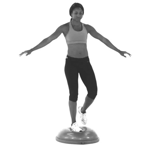 Bosu Ball One Leg Squat: Running Writings: Injury Series: Uncovering The Role Of