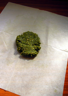 green tea dough