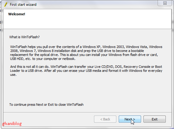 Cara Membuat File Installer Windows XP/7/8 ke Flashdisk