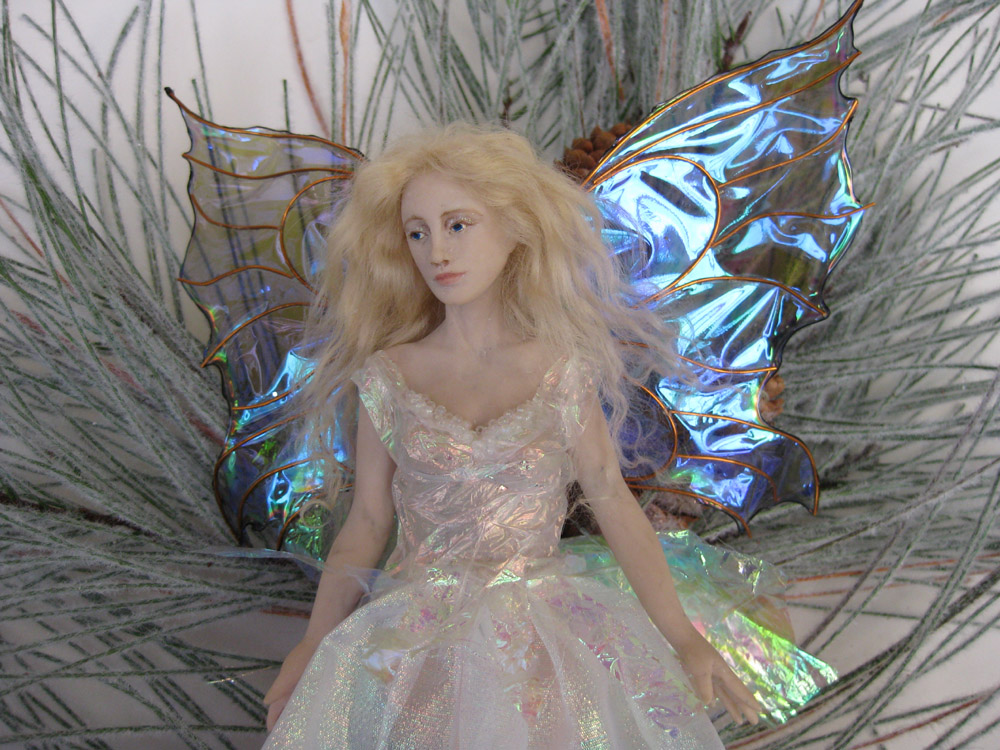 Rhissanna: Dollmakers On Thursday: The Christmas Fairy