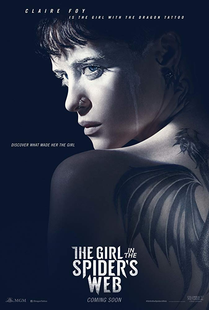 Download The Girl in the Spider's Web (2018) BluRay