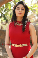 Telugu Actress Zahida Sam Latest Pos in Red Gown at RF Films New Movie Opening  0091.JPG