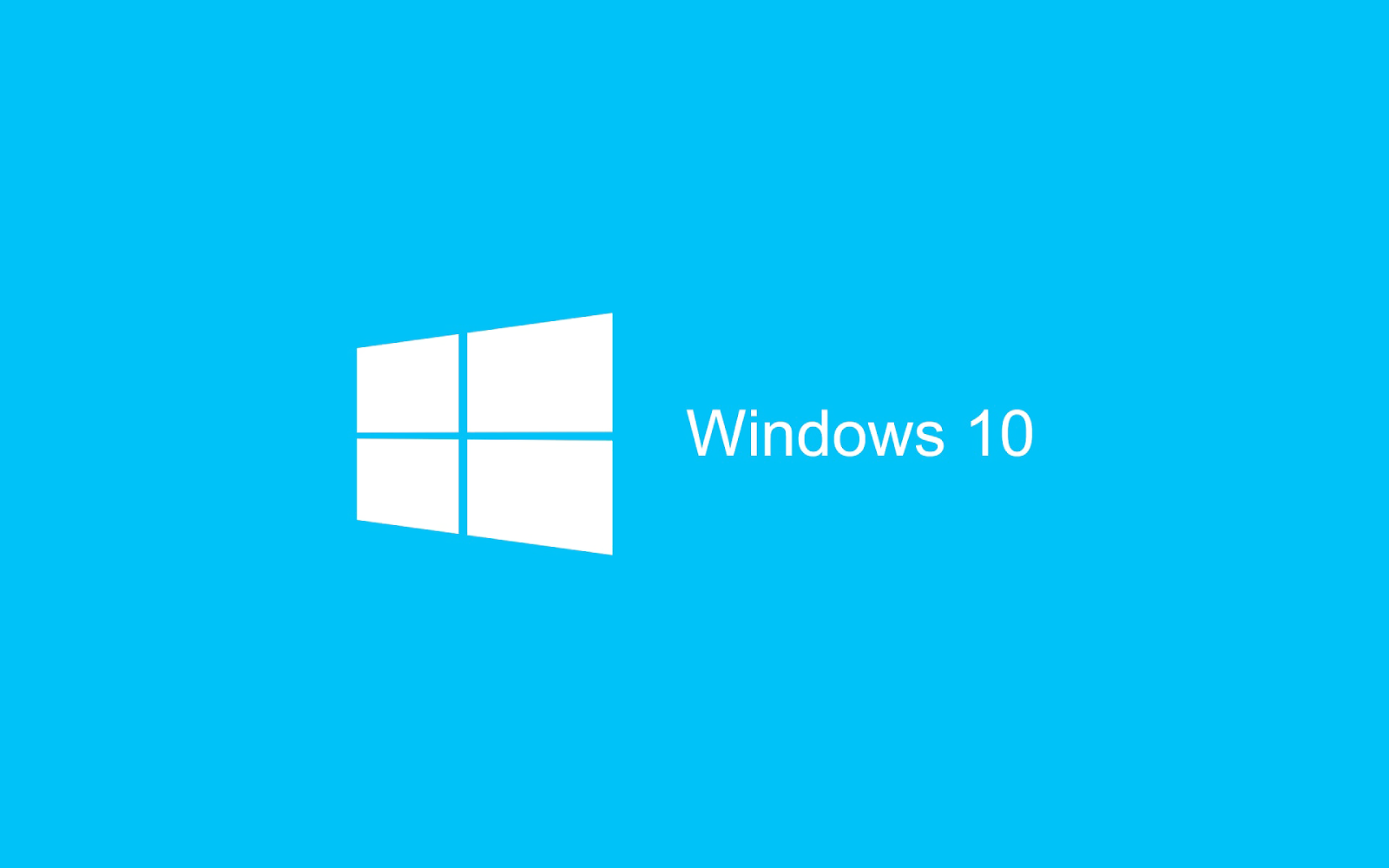 Blauen Windows 10 wallpaper