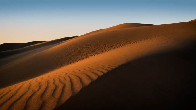 Wallpaper: Sand Dunes in Maspalomas, Spain