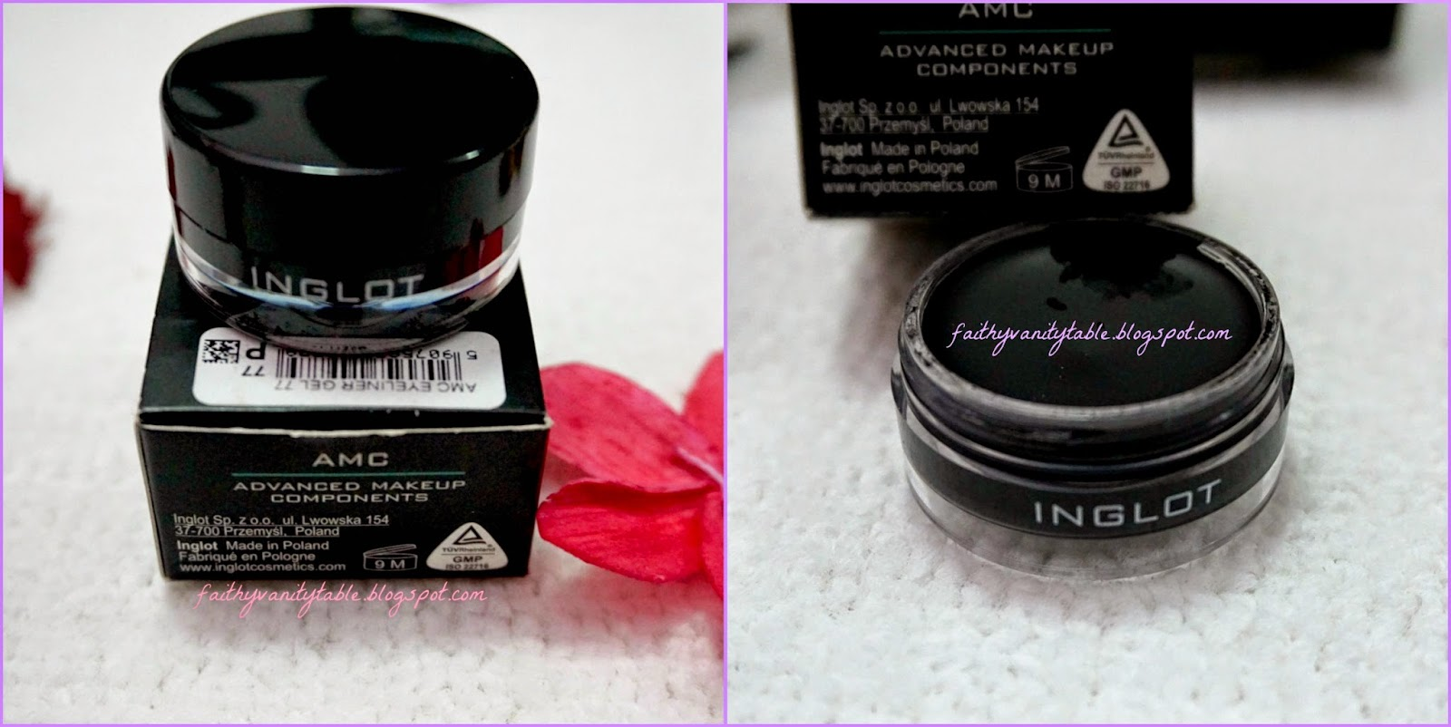 Review of Inglot AMC eyeliner gel
