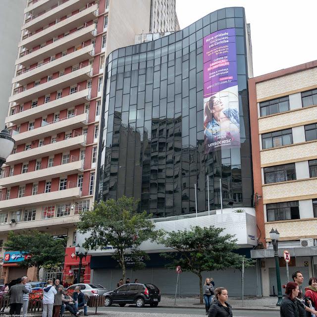 Edifício Heloísa, na Avenida Luiz Xavier.
