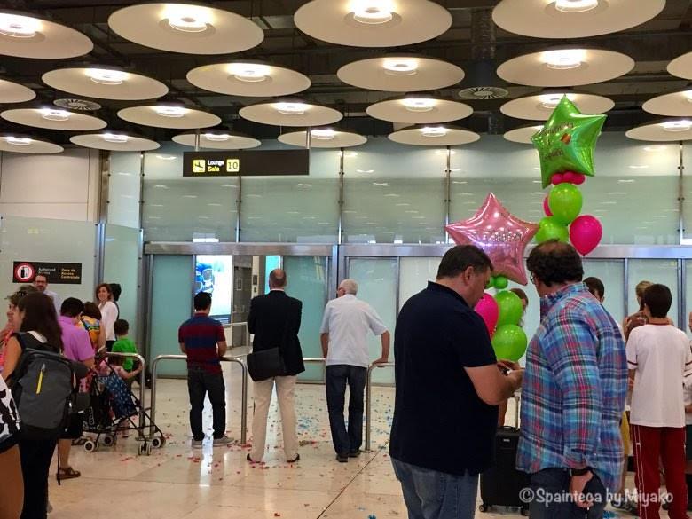 マドリード·バラハス空港ターミナルT4S到着ロビー