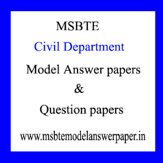 Civil Semester – 2 Model Answer papers and Question paper