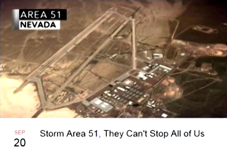 'Storm Area 51' Meme Explodes, Originator Talks