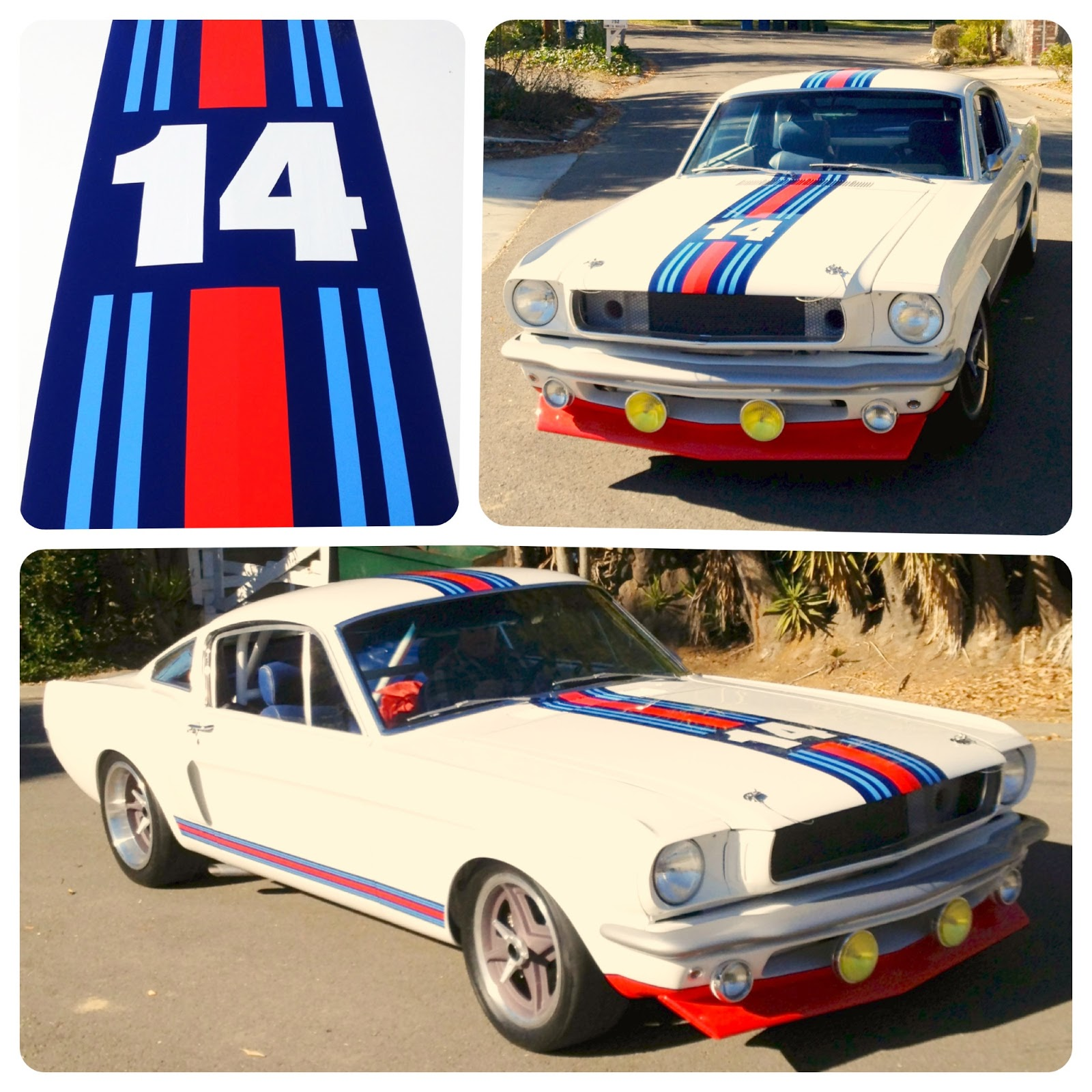 Covering Classic Cars Pure Vision S Martini Mustang T 5r