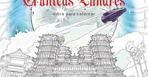 La vida de una lectora: Reseña: Crónicas Lunares Libro para Colorear ...