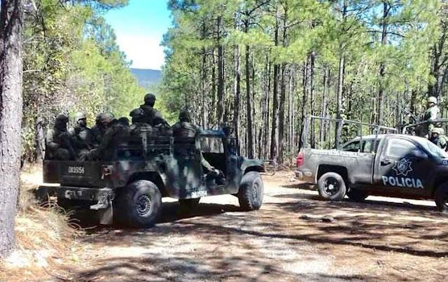 Cien 'sicarios' atacan a elementos de la CES y Ejercito en Madera Chihuahua