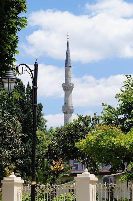 Istanbul-Turquie-Mosquée-Bleue
