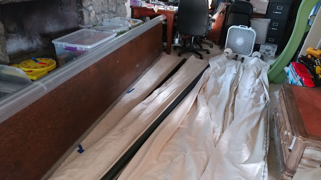 Drying out the longarm