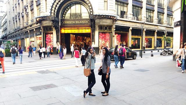 calle florida, loja, argentina, viagem, tumblr